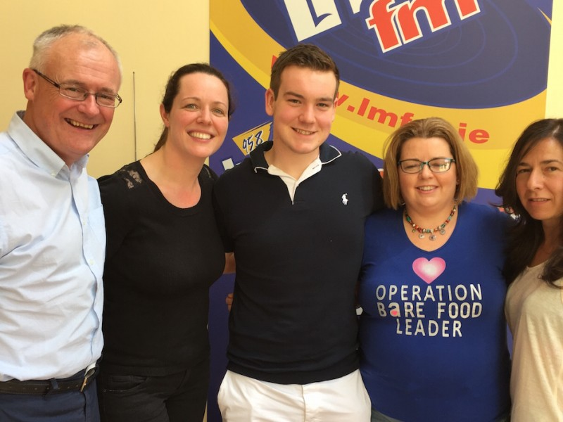Our leaders on the Late Lunch with Gerry Kelly on LMFM